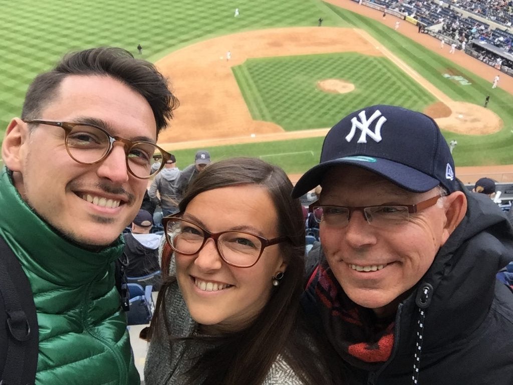 Yankee game New York