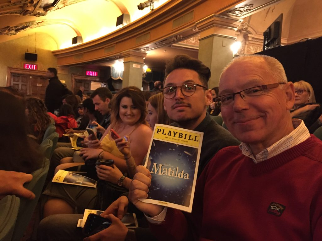 Broadway musical in New York