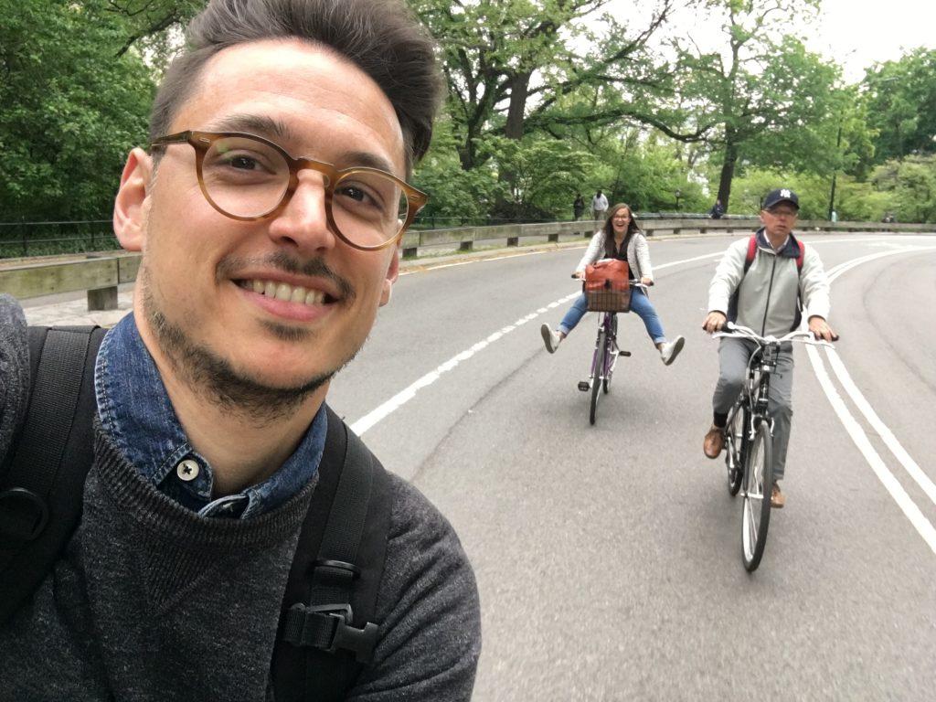 fietsen huren Central Park