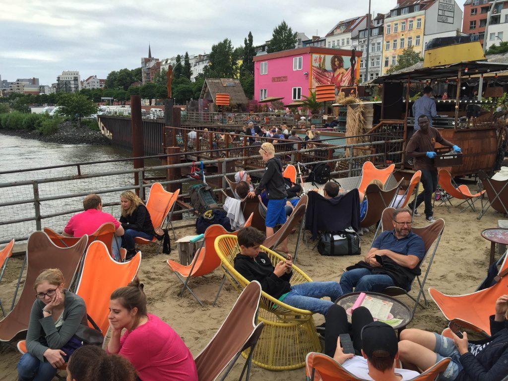 strandbar Elbe Hamburg