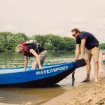Bootje varen op de Biesbosch